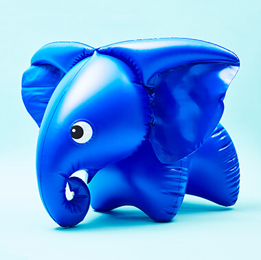 Inflatable Elephant - 1970's Design Classic