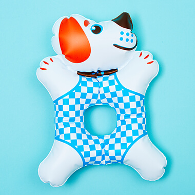 Doggie Inflatable Grip Toy - 1970's Design Classic