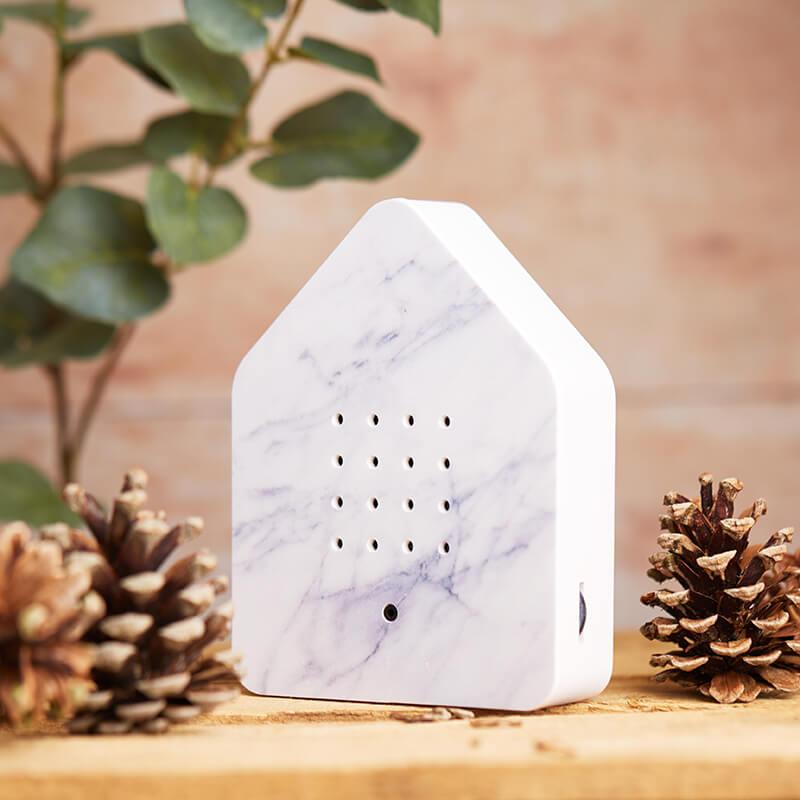 Zwitscher Motion Sensor Bird Sound Box - Marble