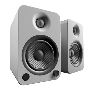 Kanto YU4 Powered Bookshelf Speakers - Matte
