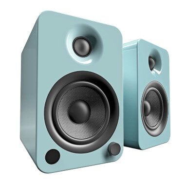 Kanto YU4 Powered Bookshelf Speakers - Gloss