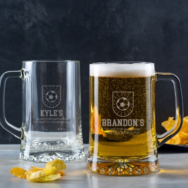 Personalised Sport Beer Tankard