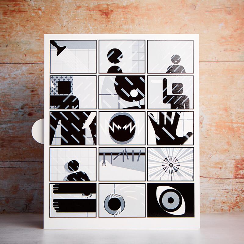 Psycho Bathroom Metal Storage Box