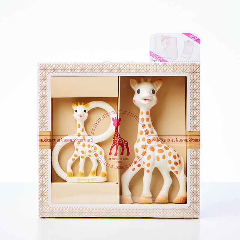 Sophie The Giraffe Teether Set