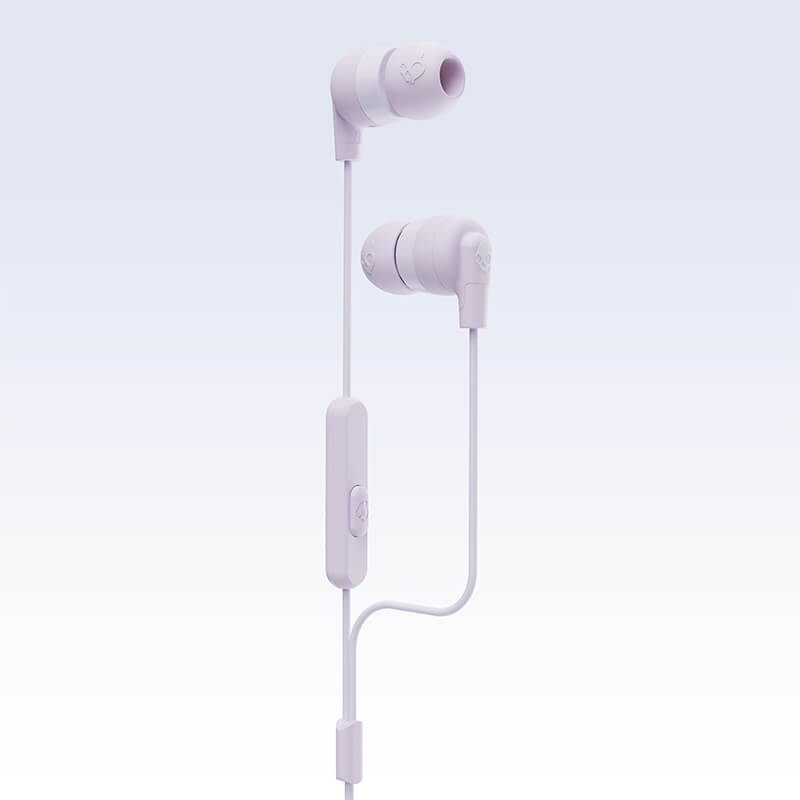 Skullcandy Ink'd Earbuds with Microphone - Pastel Lavender