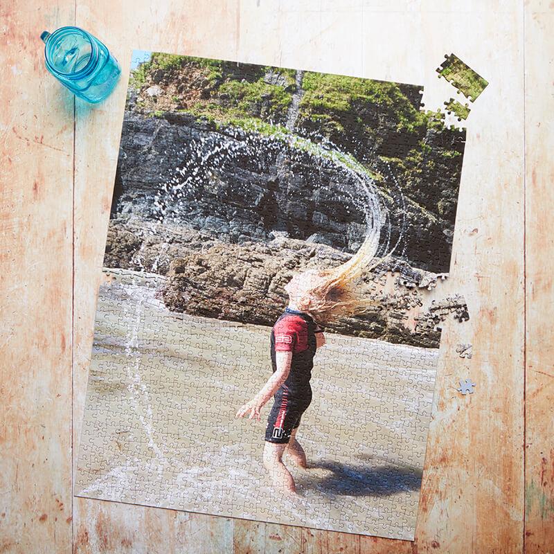 Personalised Photo Jigsaw Portrait