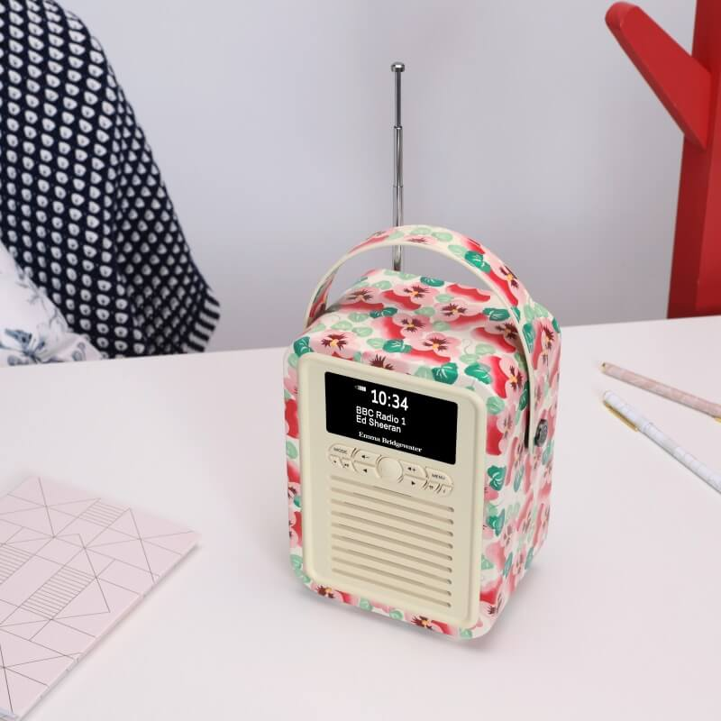Retro Mini DAB Radio And Bluetooth Speaker