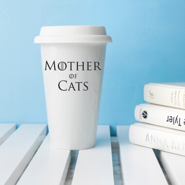 Game of Thrones Mother of Cats Travel Mug