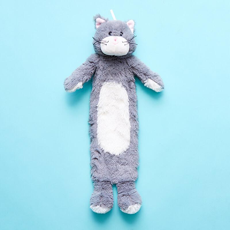 Soft Toy Hot Water Bottle - Kitten