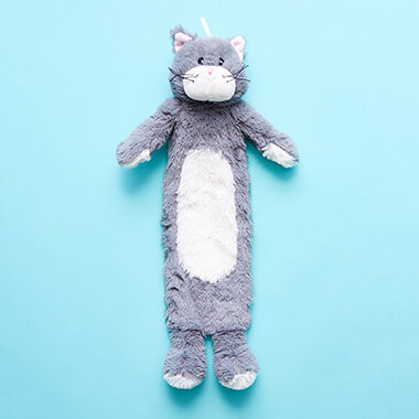 Soft Toy Hot Water Bottle - Kitten