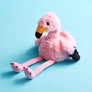 Warmies Microwavable Plush Toy - Flamingo