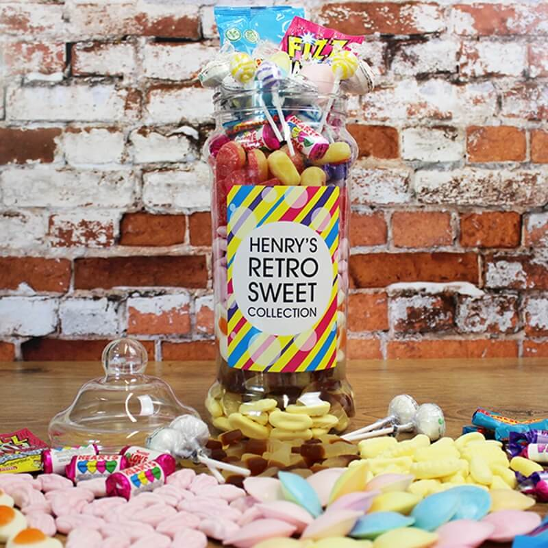 Personalised Sweetie Jar - Large