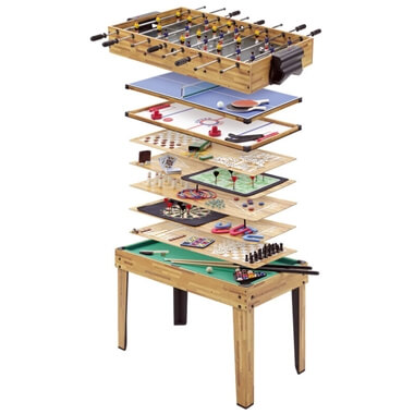 Mightymast 34-in-1 Games Table