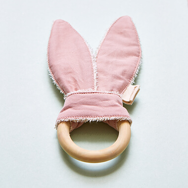 Organic Bunny Ear Teether