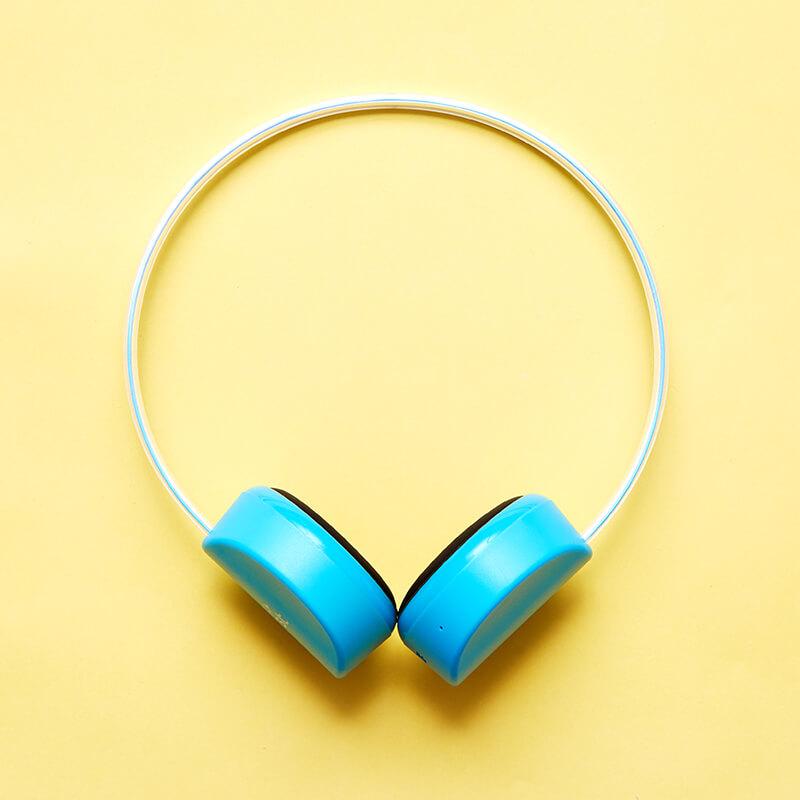 myFirst Wireless Headphones - Blue