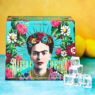 Frida Kahlo Margarita Cocktail Set