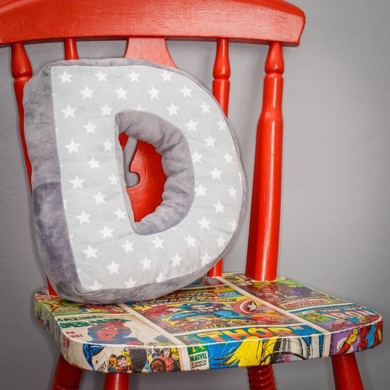 Alphabet Letter Cushion