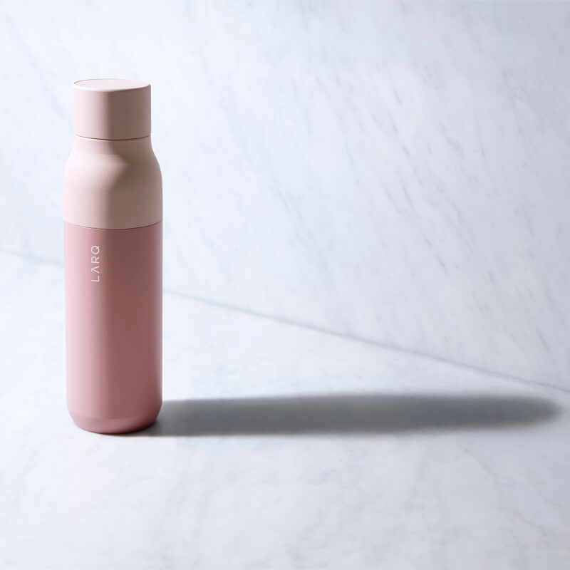 LARQ World's First Self-Cleaning Water Bottle - Pink