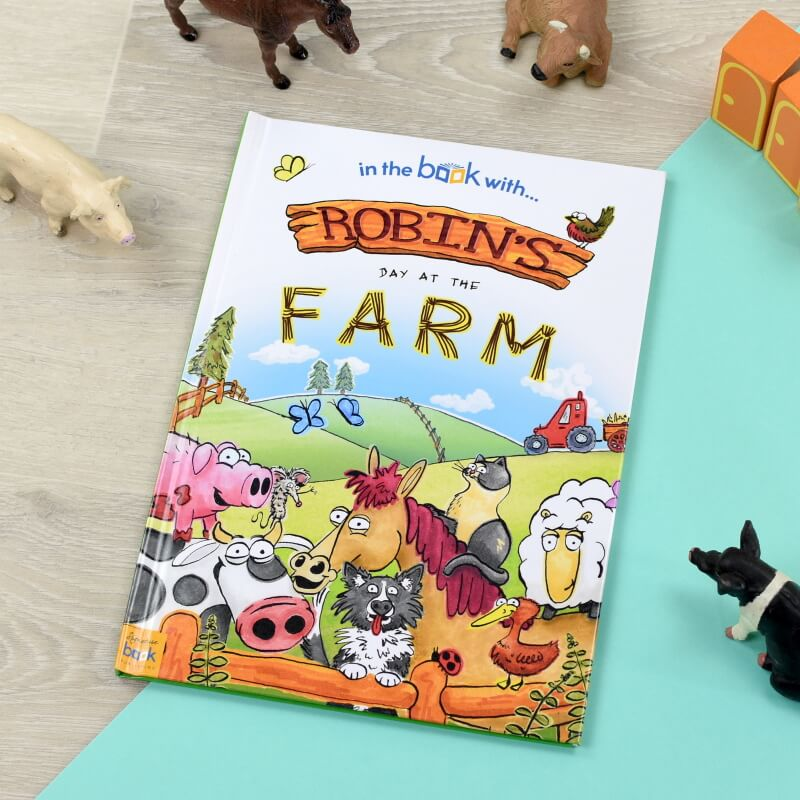 Personalised My Day at the Farm Story Book