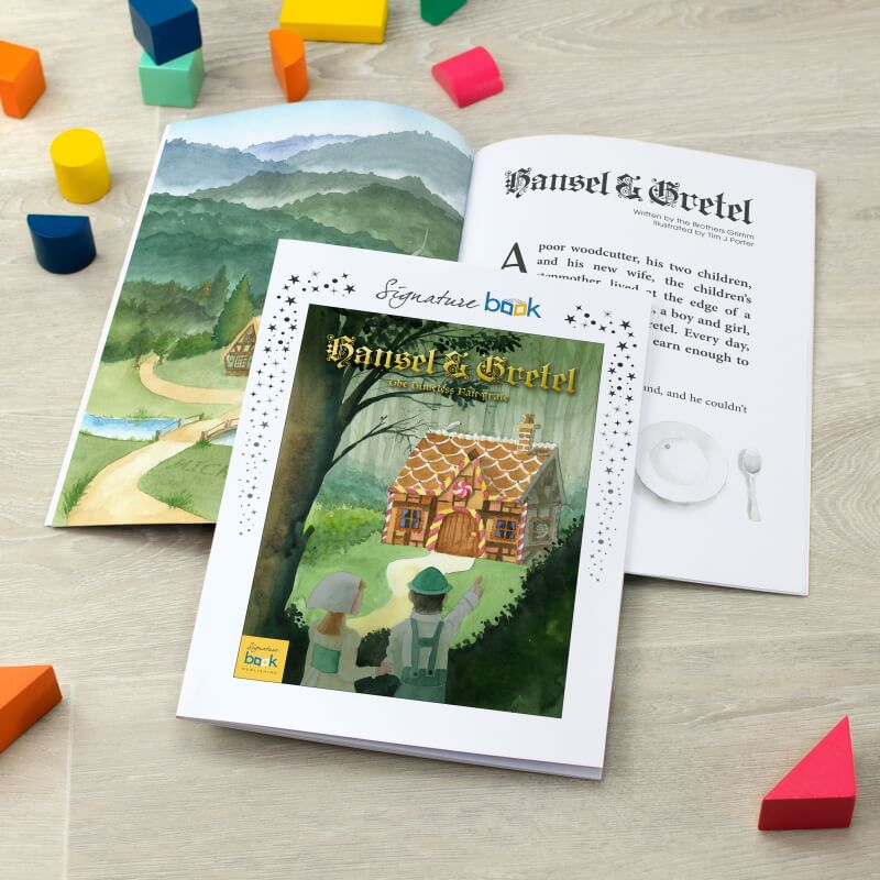 Personalised Hansel & Gretel Story Book