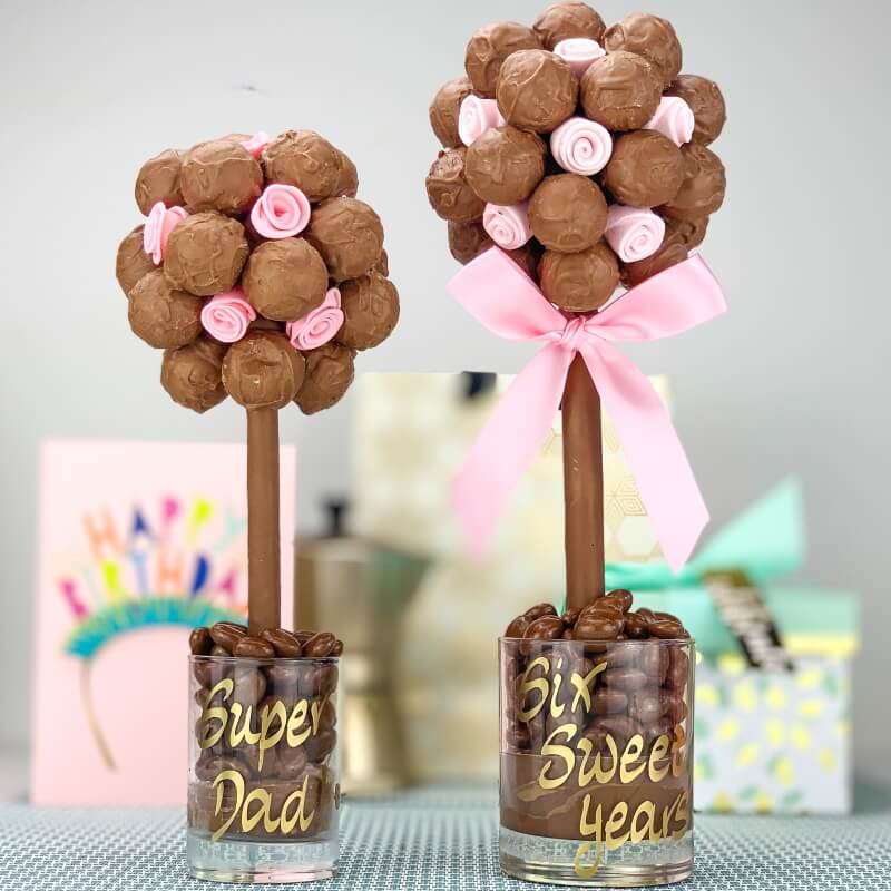 Personalised Salted Caramel Truffle Sweet Tree