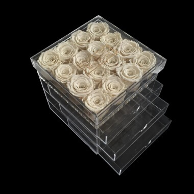 One Year Roses Make Up Box - 16 Piece