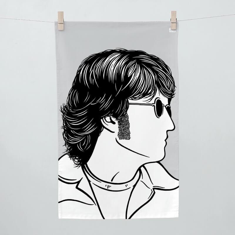 John Lennon Tea Towel
