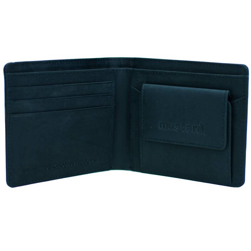 Mustard Johnny Leather Wallet