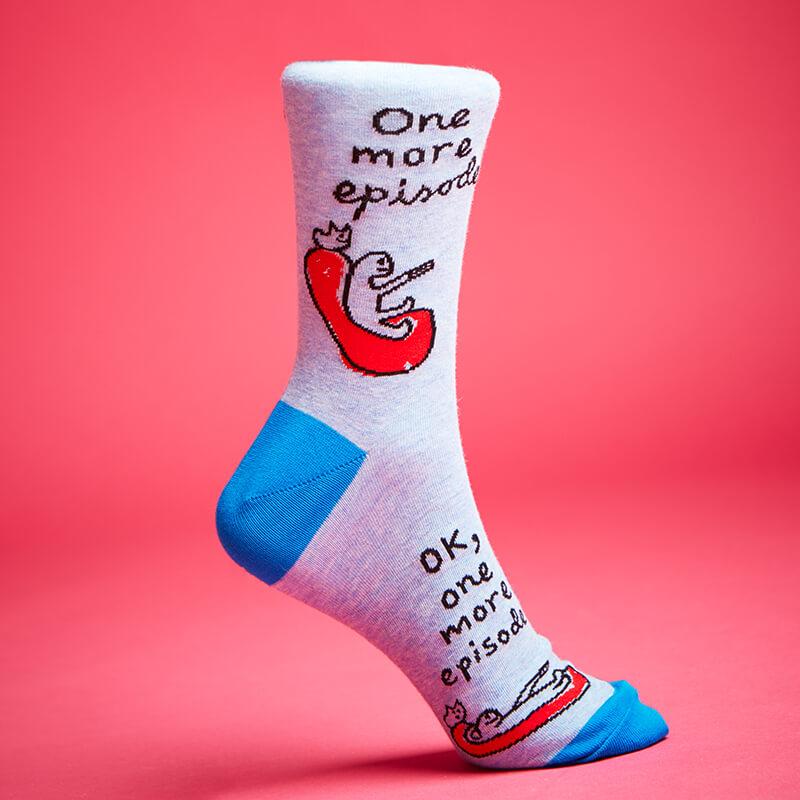 OK One More Episode Men's Socks