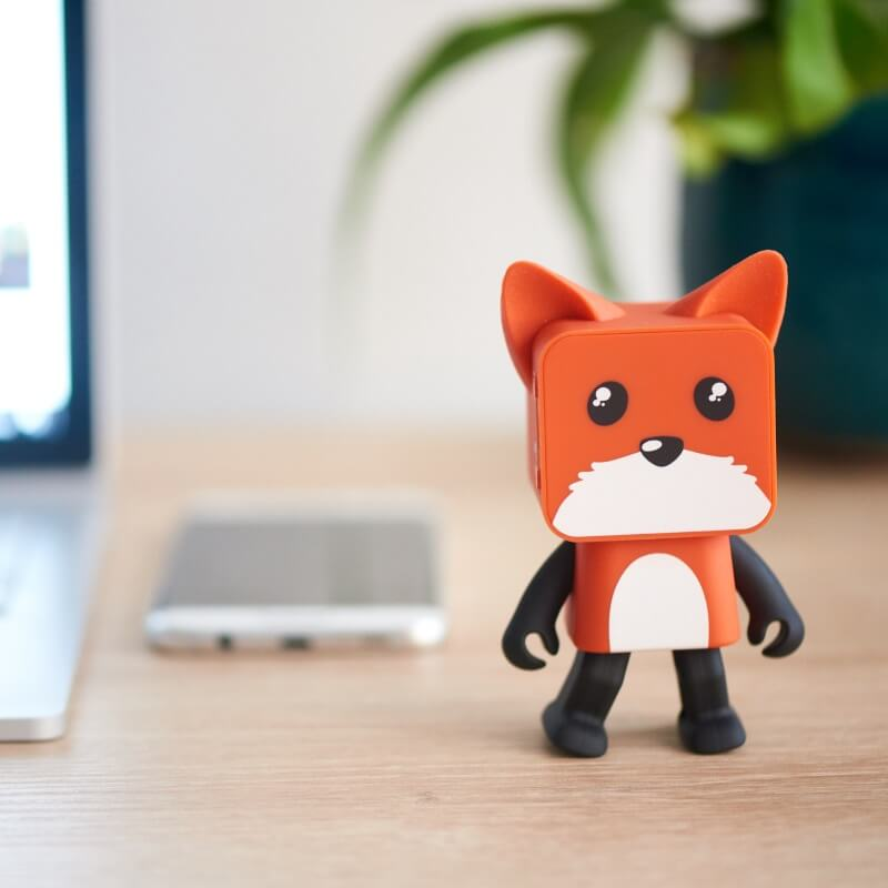 Dancing Animal Speaker - Fox