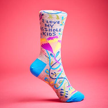 I Love My Asshole Kids Women's Socks
