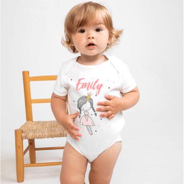 Personalised Princess Bodysuit