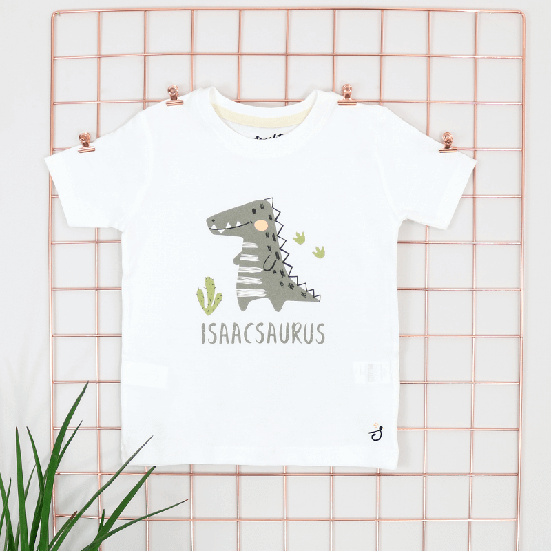 Personalised Dino Design T-Shirt