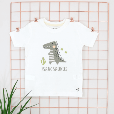 Personalised Dino Design T-Shirt