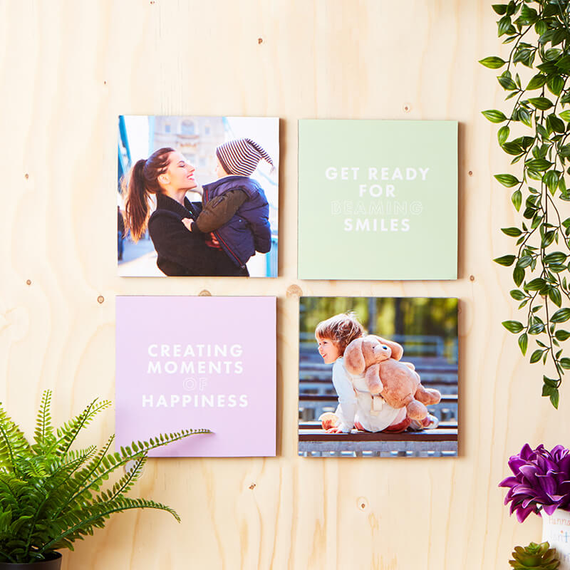 Personalised Photo Tiles - Set of 4