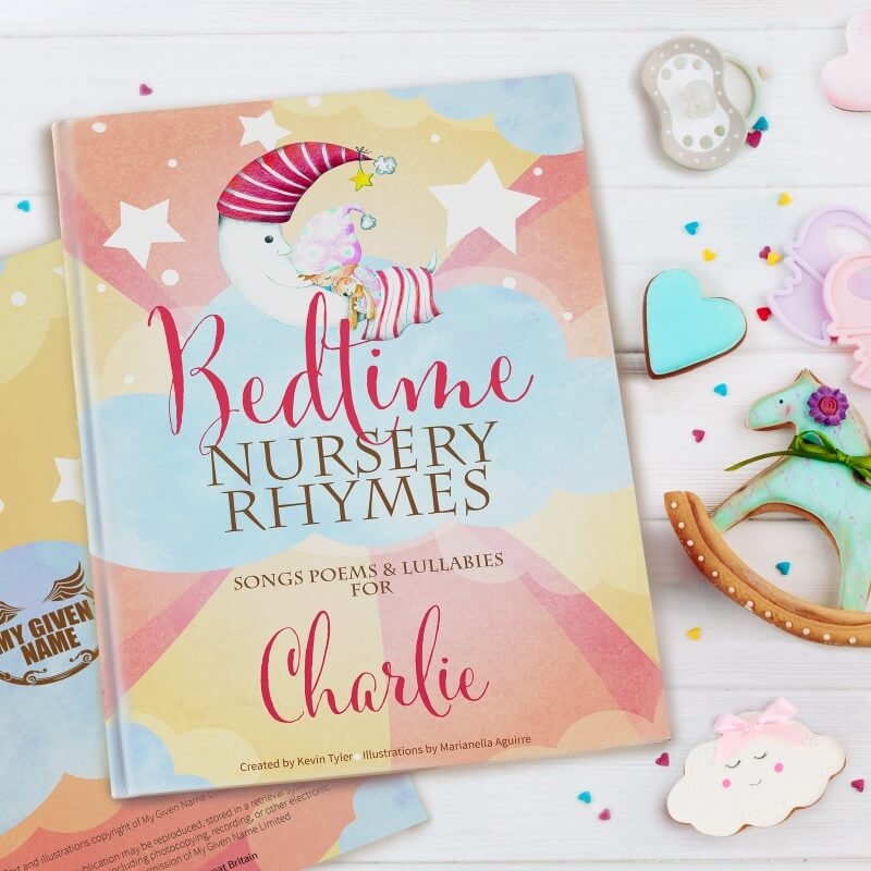Personalised Bedtime Nursery Rhyme Book