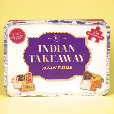 Indian Takeaway Double-Sided Puzzle