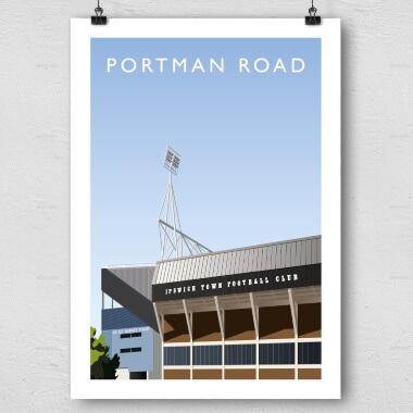 Portman Road Football Ground Print