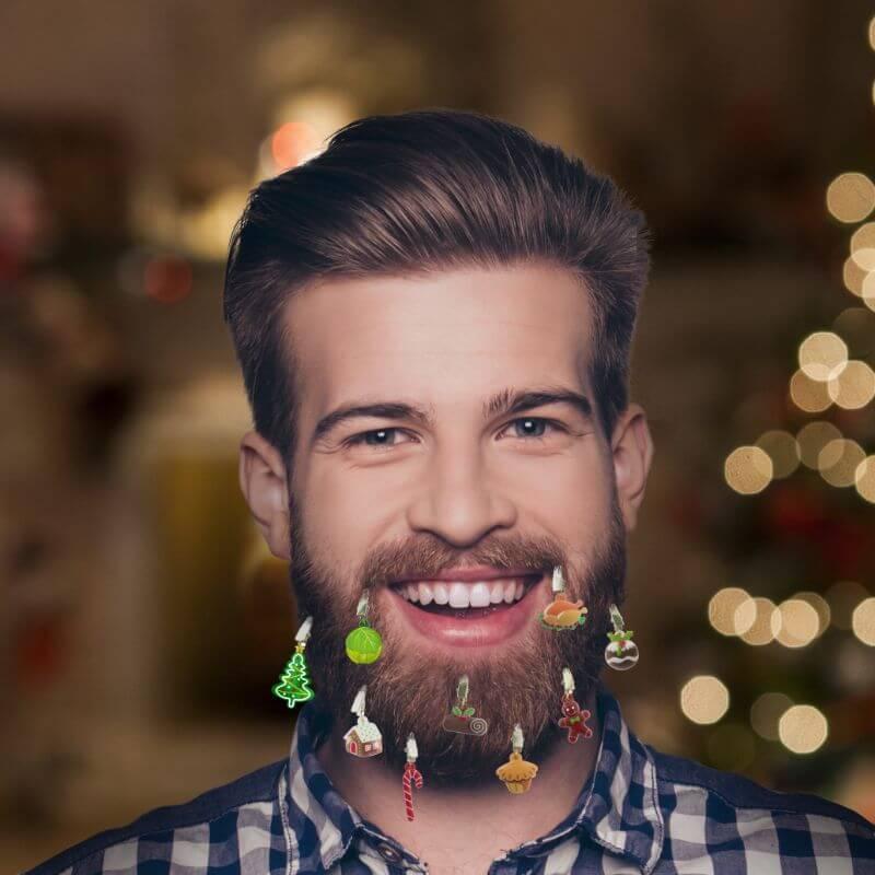 Festive Feast Beard Baubles