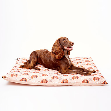 Personalised Dog Face Mattress