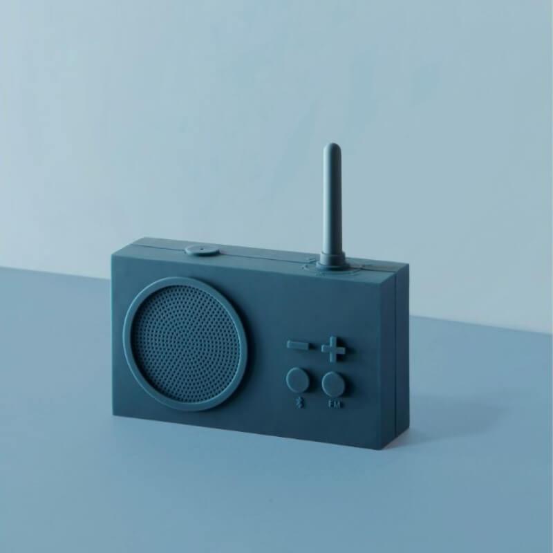 Lexon Tykho Radio & Bluetooth Speaker - Duck Blue