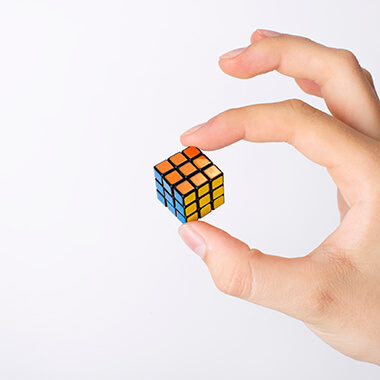 Worlds Smallest Rubiks Cube