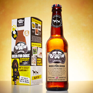 Beer and Bandana Gift Set for Dogs