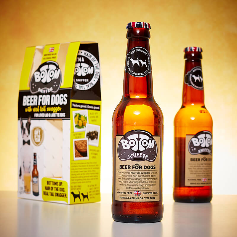 Beer for Dogs Duo Bottle Gift Set