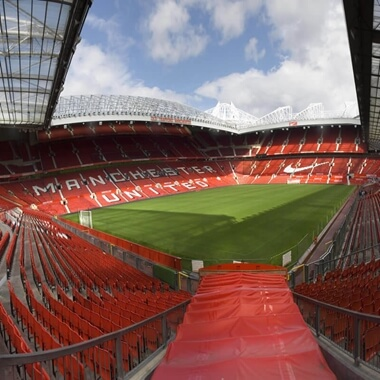 Tour of Manchester United's Old Trafford Stadium for Two