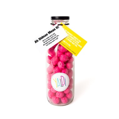 Occasions Braw Bottle Sweet Jar