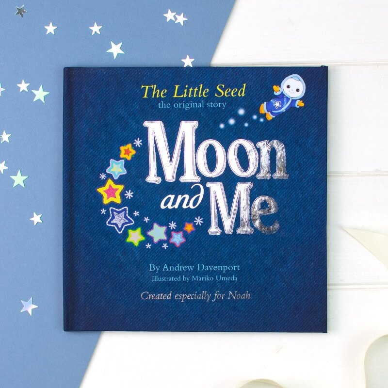 Personalised Moon and Me: Little Seed Children's Book