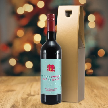 Personalised 'Ugly and Bright' Wine