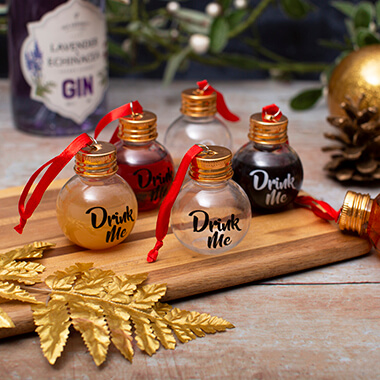 Drink Me Boozy Baubles - Set of 6