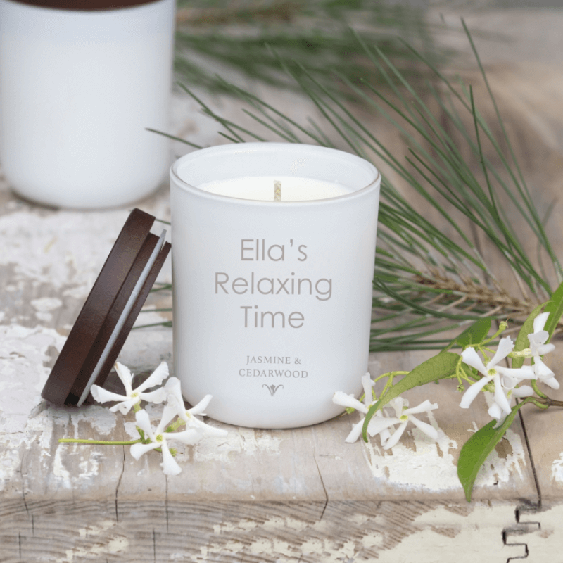 Personalised Luxury Soy Candle